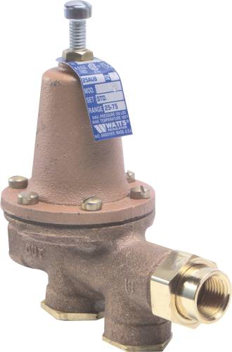 WATER PRESSURE REDUCING VALVE 1 IN FIP X 1 IN FIP