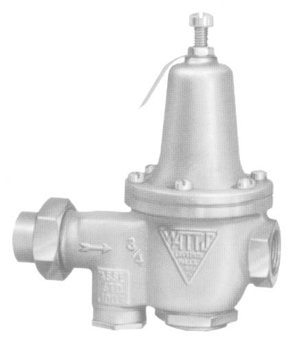WATER PRESSURE REDUCING VALVE 3/4 IN