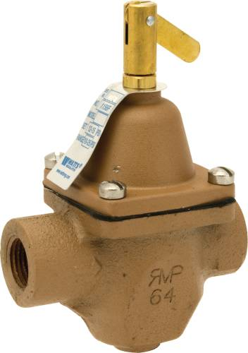 FEED WATER PRESSURE REGULATOR 1/2 IN IPS, WITHOUT UNION