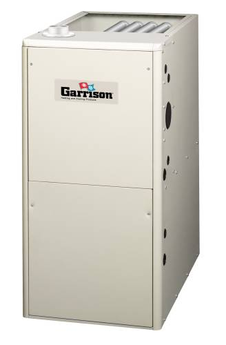 GARRISON GAS FURNACE 95% 2-3T AFUE INDUCED DRAFT UPFLOW OR HORIZ