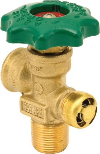 LARGE CYLINDER VALVE, 10% FIXED LEVEL GRADE 10.6 IN. DIP STICK
