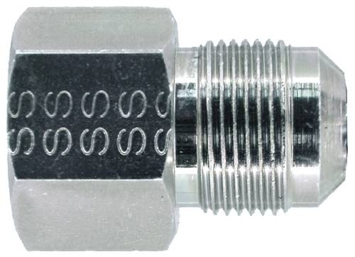 STAINLESS STEEL GAS CONNECTOR ADAPTER 1/2 IN. FIP