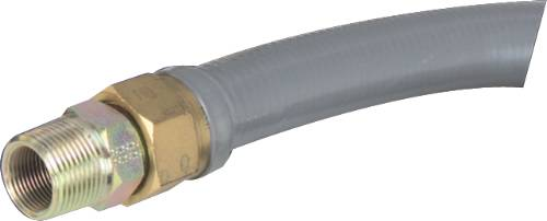 GAS CONNECTOR COATED STAINLESS STEEL 48 IN.