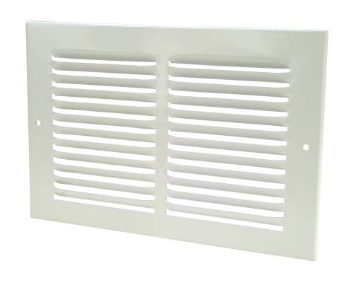 SIDE RETURN AIR GRILLE 10 IN. X 6 IN. WHITE