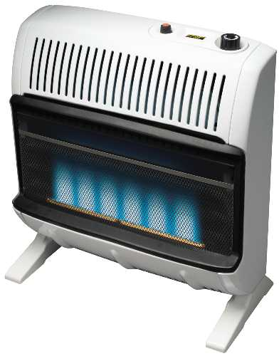 VENT-FREE BLUE FLAME HEATER 30K BTU/HR LP GAS
