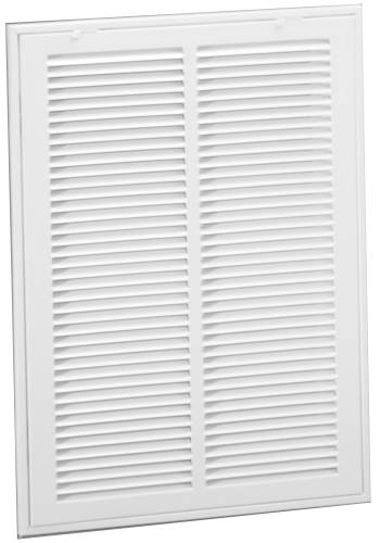 SIDE RETURN FILTER GRILLE 25 IN. X 20 IN. WHITE