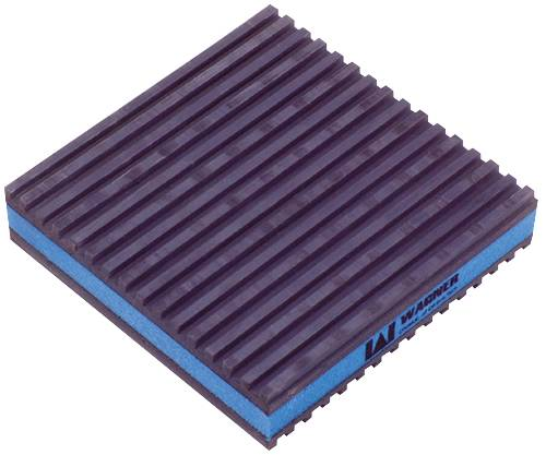 ANTI VIBRATION PAD 18 IN. X 18 IN. X 7-3/4 IN.