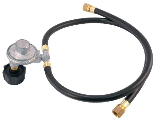 REGULATOR WITH TYPE 1 CONNECTOR DUAL HOSE