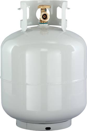 CYLINDER, 20 LB, TYPE 1, OPD QCC, LP GAS, STEEL