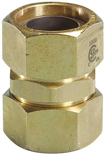 TRAC PIPE AUTOFLARE FITTING COUPLING 1/2 IN.