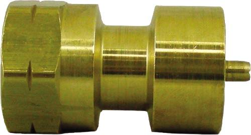 REVERSE CYLINDER ADAPTER 1 IN. 20 FEMALE X 1/4 IN. FEMALE POL