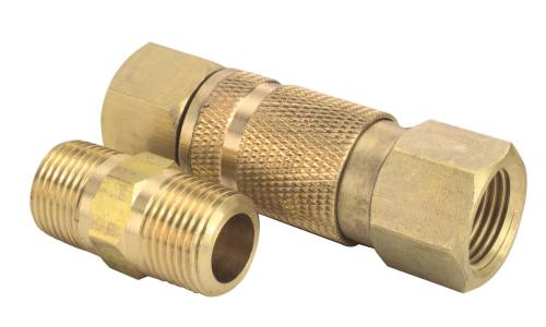 QUICK CONNECTOR 3/8 IN. MALE NPT X 3/8 IN. FEMALE NPT