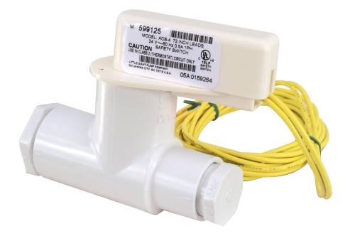 IN LINE A/C AUXILIARY SAFETY SWITCH, 24 VAC, 72 IN LEAD WIRE