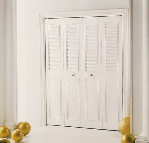 Merveilleux CLASSIC METAL BIFOLD DOOR 4 PANEL 48 IN. X 80 IN.