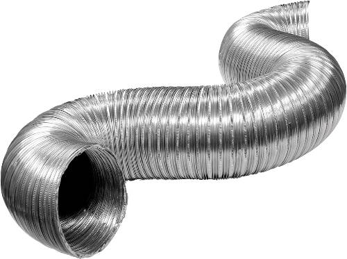 FLEXIBLE ALUMINUM DUCTING 4 IN. X 8 FT.