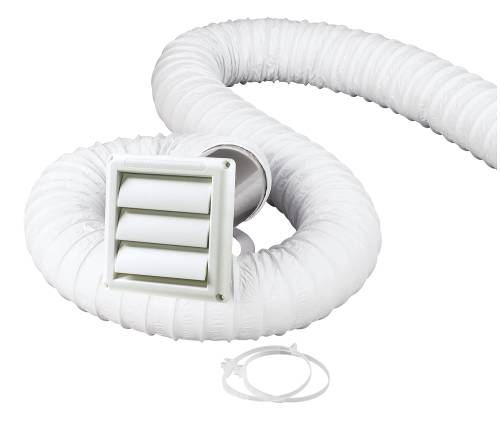 LOUVERED VENT KIT 4 FT.