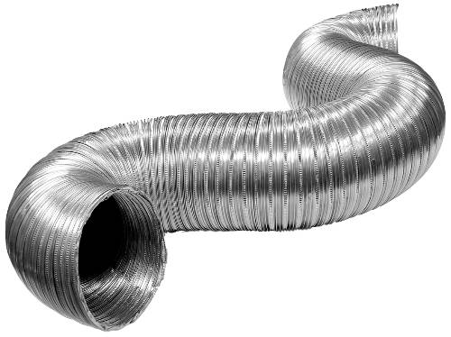 FLEXIBLE ALUMINUM DUCTING 3 IN. X 8 FT.
