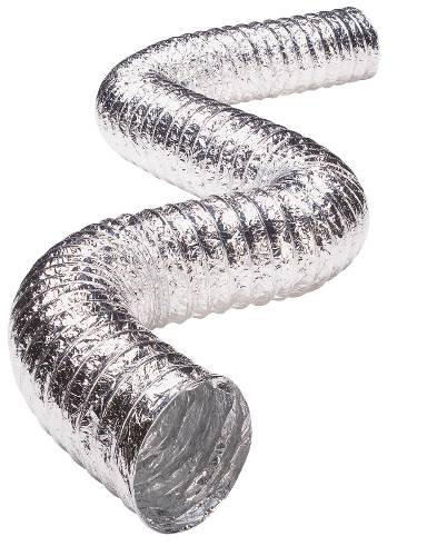 FLEXIBLE DRYER VENT DUCTING 4 IN. X 25 FT.