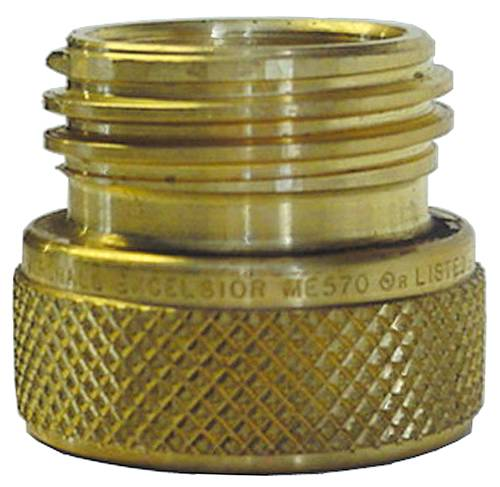 GAS FILL CHECK ADAPTER FITTING 1-3/4 IN. F X 1-3/4 IN. M