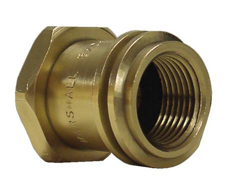 GAS POL ADAPTER FITTING 1-5/16 IN. M. ACME X 1/4 IN. FNPT ADAPTE