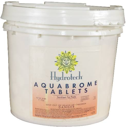 BROMINE TABLETS 25LB PAIL