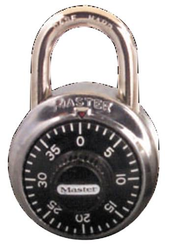 MAST #1500 STEEL COMBINATION LOCK