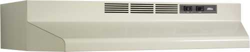 BROAN 41000 SERIES DUCTLESS RANGE HOOD 30 IN. BISQUE