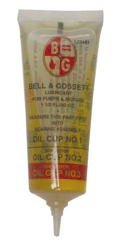 BELL & GOSSETT TUBE OIL 1.5 OZ.