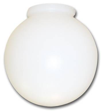 BALL GLOBE WITH FITTER NECK 10""