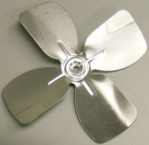 FAN BLADE 6 IN ALUMINUM 4 BLADES 1/4 IN SHAFT CW