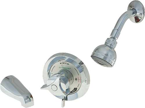 SYMMONS SHOWER VALVE WITH STOP