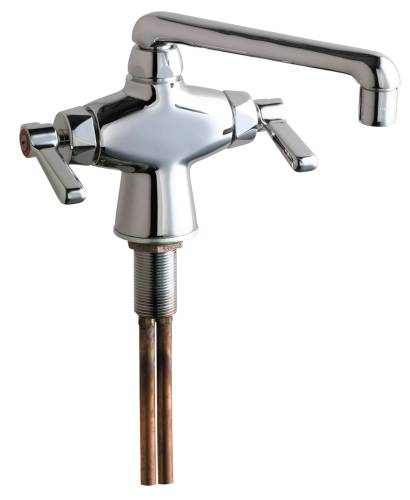 CHICAGO DOUBLE PANTRY SINK FAUCET QUATURN XT CARTRIDGE