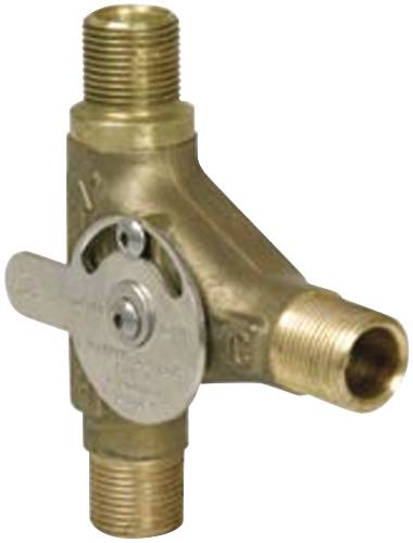 DELTA MIXER WITH THERMOSTAT LIMIT