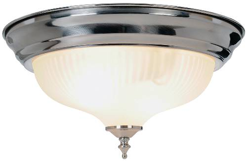 DECORATIVE SWIRL GLASS CEILING FIXTURE, MAXIMUM TWO 60 WATT INCA