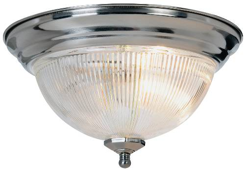 HALOPHANE DOME CEILING FIXTURE, MAXIMUM ONE 60 WATT INCANDESCENT