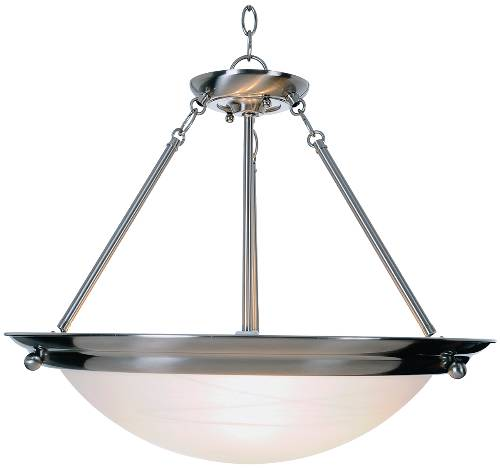 CONTEMPORARY PENDANT CEILING FIXTURE, MAXIMUM THREE 100 WATT INC