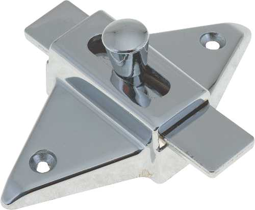 PARTITION SLIDE LATCH 2 3/4 IN