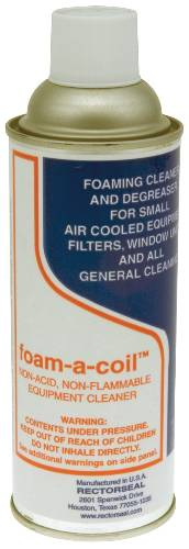 RECTOSEAL FOAM-A-COIL CLEANER