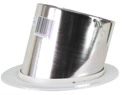 SLOPED CEILING REFLECTOR TRIM CHROME