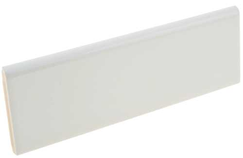 "CERAMIC END CAPS 2"" X 6"" WHITE"