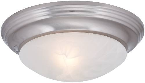 DECORATIVE FLUSH MOUNT CEILING FIXTURE, MAXIMUM ONE 75 WATT INCA