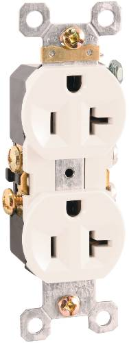DUPLEX RECEPTACLE 20 AMPS ALMOND
