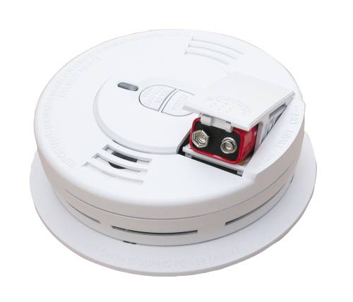 KIDDE DIRECT WIRE BATTERY BACK UP SMOKE ALARM 9V AC/DC