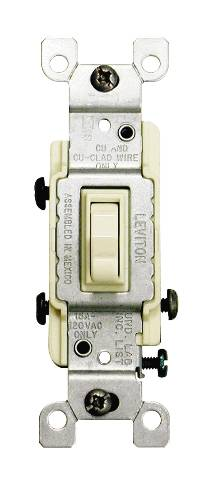 3 WAY TOGGLE SWITCH IVORY