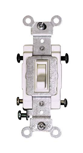 4 WAY TOGGLE SWITCH IVORY