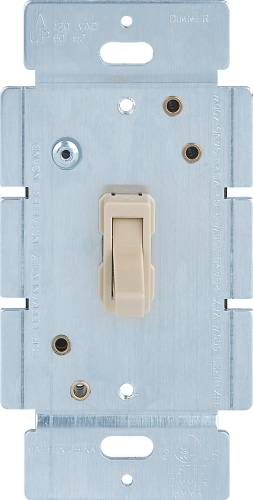 DIMMER-TOGGLE, 3 WAY, IVORY