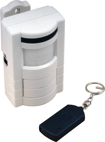 CARLON ADJUSTABLE MOTION ALARM WITH REMOTE COTROL