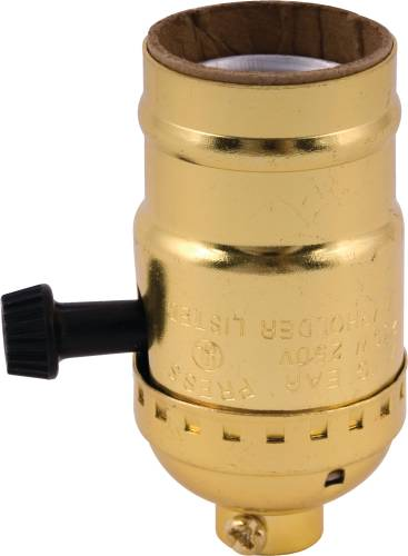SINGLE TURN KNOB SOCKET ELECTROLIER SOCKET FOR MEDIUM BASE FLUOR
