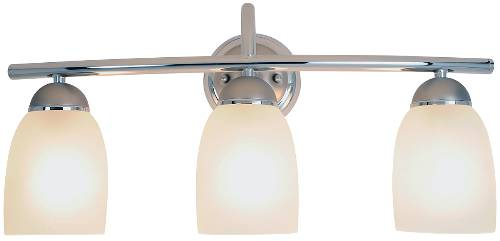 ESSEN™ VANITY FIXTURE, MAXIMUM THREE 100 WATT INCANDESCENT MEDIU