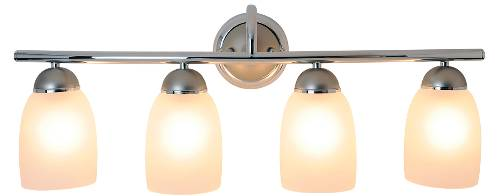 ESSEN™ VANITY FIXTURE, MAXIMUM FOUR 100 WATT INCANDESCENT MEDIUM